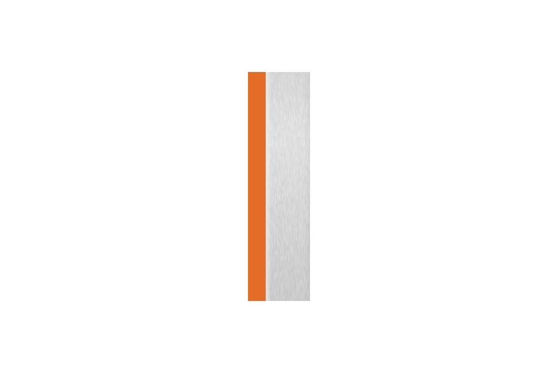Orange + Aluminium