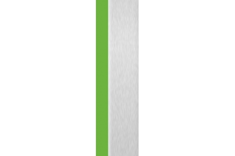 Vert Pomme + Aluminium