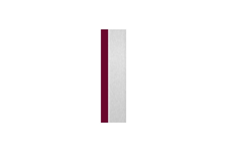 Bourgogne + Aluminium