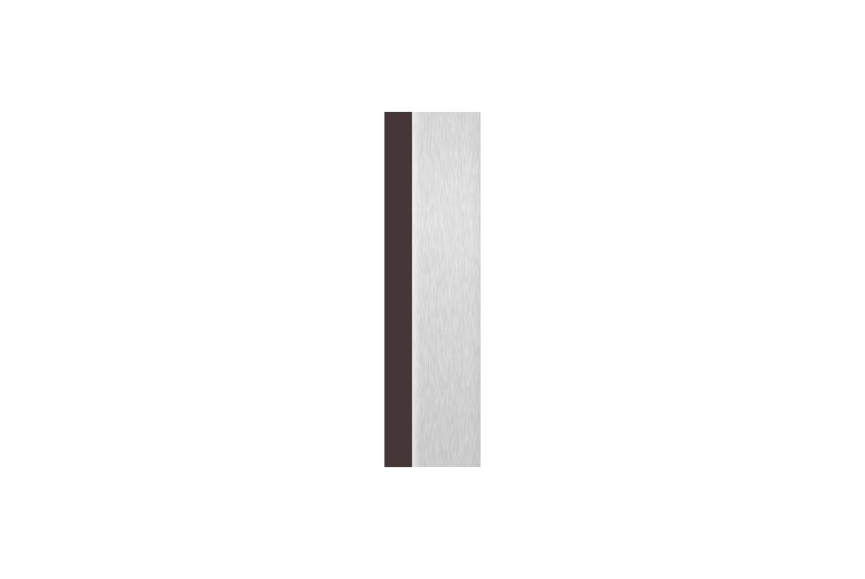 Brun + Aluminium