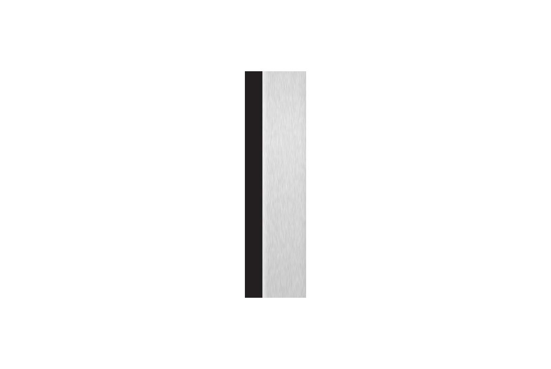 Noir + Aluminium